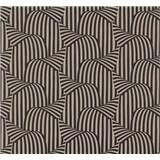 Vliesové tapety na zeď NENA 3D moderní vzor hnědo-černý