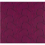 Vliesové tapety na zeď NENA 3D moderní vzor růžový