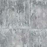 Vliesové tapety na zeď NEUE BUDE 2.0 betonová zeď šedo-stříbrná