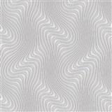 Vliesové tapety na zeď IMPOL New 21 3D vzor šedý na béžovém podkladu