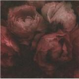 Vliesové tapety IMPOL New Wall květy velké červeno-černé