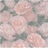 Vliesové tapety IMPOL New Studio květinový vzor růžový