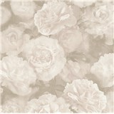 Vliesové tapety IMPOL New Studio květinový vzor bílo-šedý