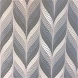 Vliesové tapety na zeď Einfach Schoner 3 retro vzor modro, šedo, bílý - POSLEDNÍ KUSY