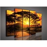 Obraz na plátně Austrálie při západu slunce 150 x 100 cm