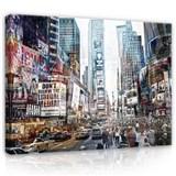 Obraz na plátně New York 100 x 140 cm