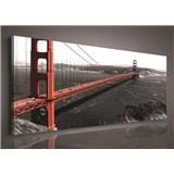 Obraz na plátně Golden Gate Bridge 45 x 145 cm