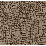 Vliesové tapety na zeď Opal moderní vzor hnědý