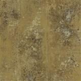 Vliesové tapety na zeď Origin - beton kovový vzhled hnědo-zlatý