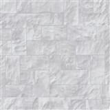 Vliesové tapety na zeď Origin - kámen obkladový šedý