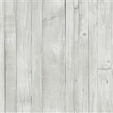Vliesové tapety na zeď Origin - dřevěné prkna vintage bílé