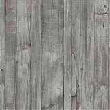 Vliesové tapety na zeď Origin - dřevěné prkna hnědo-šedé - POSLEDNÍ KUSY