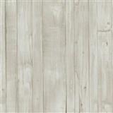 Vliesové tapety na zeď Origin - dřevěné prkna světle hnědé