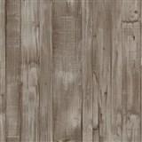 Vliesové tapety na zeď Origin - dřevěné prkna hnědé