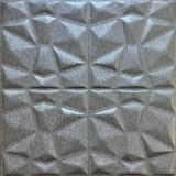 Samolepící pěnové 3D panely rozměr 70 x 70 cm, diamant šedý