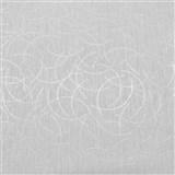 Vliesové tapety na zeď Polar curls světle šedý se stříbrným vzorem