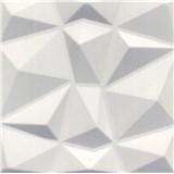 3D panel XPS DIAMANT bílý rozměr 50 x 50 cm