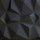 3D panel XPS DIAMANT černý rozměr 50 x 50 cm