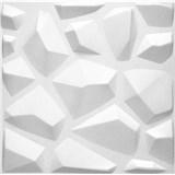 3D panel XPS Mars bílý rozměr 50 x 50 cm