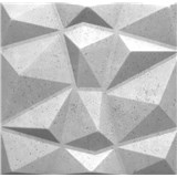 3D panel XPS DIAMANT BETON světle šedý 50 x 50 cm