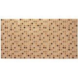 Obkladové 3D PVC panely rozměr 955 x 480 mm mozaika Casablanca