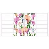 Obkladové 3D PVC panely rozměr 955 x 480 mm květy Calla