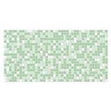 Obkladové 3D PVC panely rozměr 955 x 480 mm mozaika zelená
