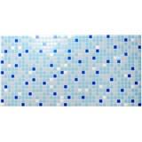 Obkladové 3D PVC panely rozměr 955 x 480 mm mozaika modrá
