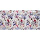 Obkladové 3D PVC panely rozměr 964 x 484 mm květy hortenzie