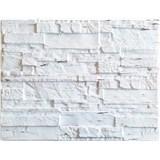 Obkladové 3D PVC panely rozměr 440 x 580 mm ukládaný kámen krémový