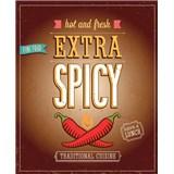 Retro cedule Extra Spicy 40 x 30 cm