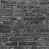 Vliesové tapety na zeď Sand and Stones cihla klinker tmavě šedá s výraznou strukturou