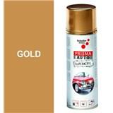 Sprej AUTO SUPERACRYL 400ml barva zlatá