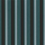 Vliesové tapety na zeď Studio Line - Magic Circles pruhy zeleno-černé