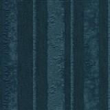 Vliesové tapety na zeď Studio Line - Opulent pruhy tyrkysové se třpytem