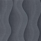 Vliesové tapety na zeď Studio Line - Graceful vlnovky šedo-stříbrné