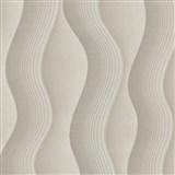 Vliesové tapety na zeď Studio Line - Graceful vlnovky světle hnědé