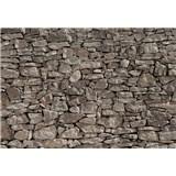 Fototapety kamenná zeď rozměr 368 cm x 254 cm