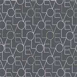 Vliesové tapety na zeď IMPOL Sweet and Cool LOVE tmavě šedé