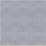 Vliesové tapety na zeď IMPOL Timeless kruhy šedé