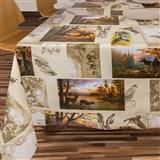 Ubrusy návin 20 m x 140 cm lesní zvěř