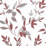 Vliesové tapety na zeď IMPOL Wall We Love 2 listy bordově červeno-šedé s metalickým odleskem