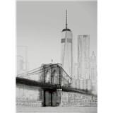 Vliesové fototapety umělecká ilustrace - New York rozměr 184 x 254 cm