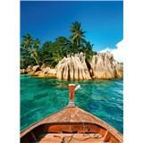 Vliesové fototapety St.Pierre ostrov na Seychelách rozměr 184 x 254 cm