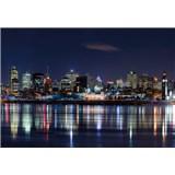 Fototapety noční Montreal rozměr 368 cm x 254 cm