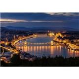 Vliesové fototapety Budapešť rozměr 368 cm cm x 254 cm