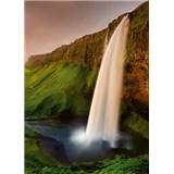 Vliesové fototapety Islandský vodopád rozměr 184 cm x 254 cm