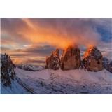Fototapety Italské horské vrcholy rozměr 368 cm x 254 cm