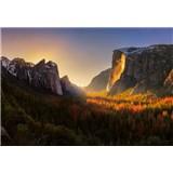 Fototapety Yosemitský národní park rozměr 368 cm x 254 cm