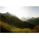 Fototapety švýcarské hory rozměr 368 cm x 254 cm